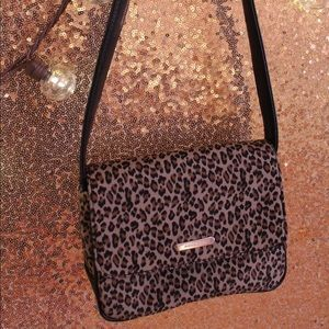 Evan Picone Leopard Print Mini Purse